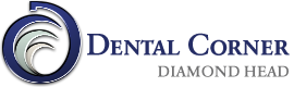 dental corner diamond head logo