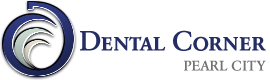 dental corner pearl city logo